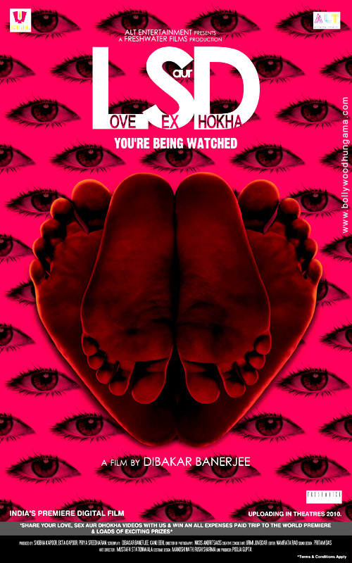 Love Sex Aur Dhokha (LSD)  |  Hindi  |  2010