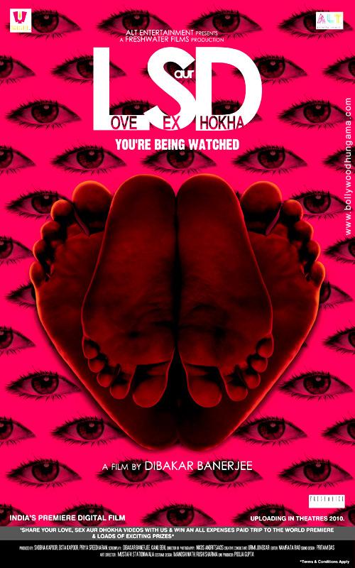 Love Sex Aur Dhokha (LSD)  |  Hindi  |  2010